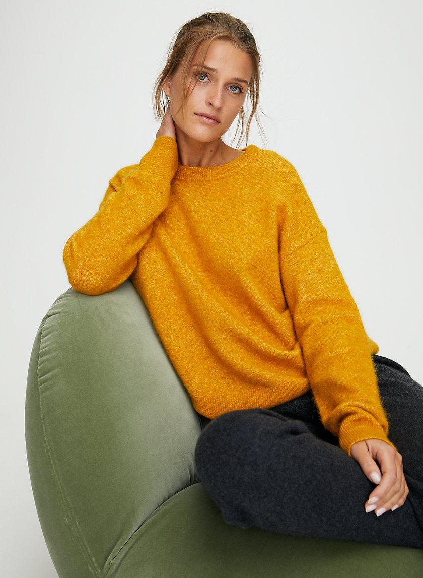 THURLOW SWEATER - Alpaca-blend crewneck sweater