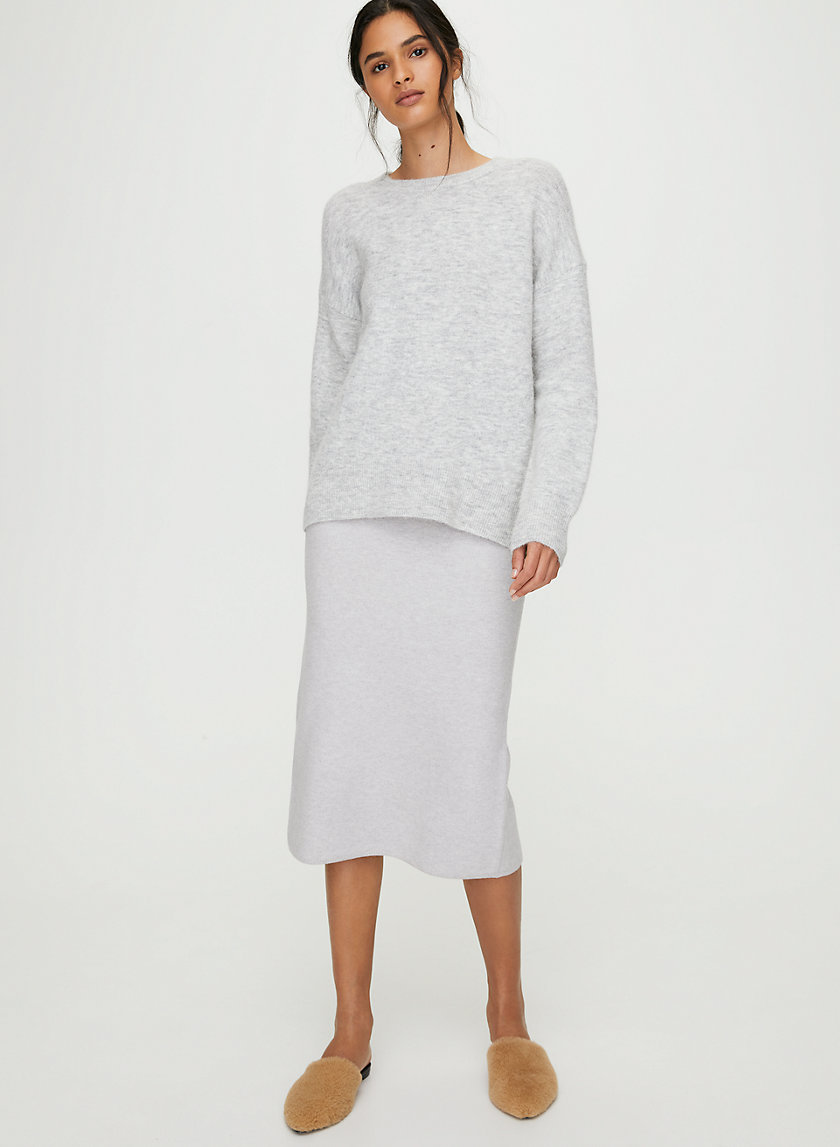 THURLOW SWEATER - Alpaca-blend crewneck sweater