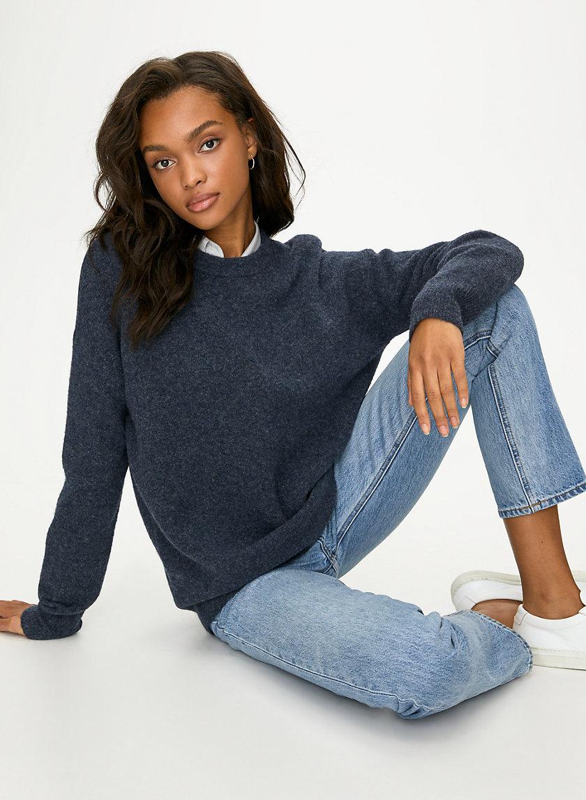 THURLOW SWEATER - Wool-blend crewneck sweater