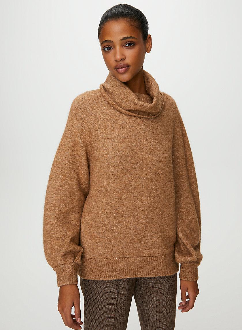 ADICHIE SWEATER - Oversized, turtleneck sweater