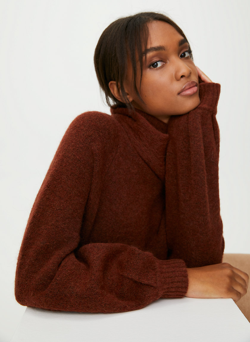 ADICHIE SWEATER - Oversized, turtleneck sweater