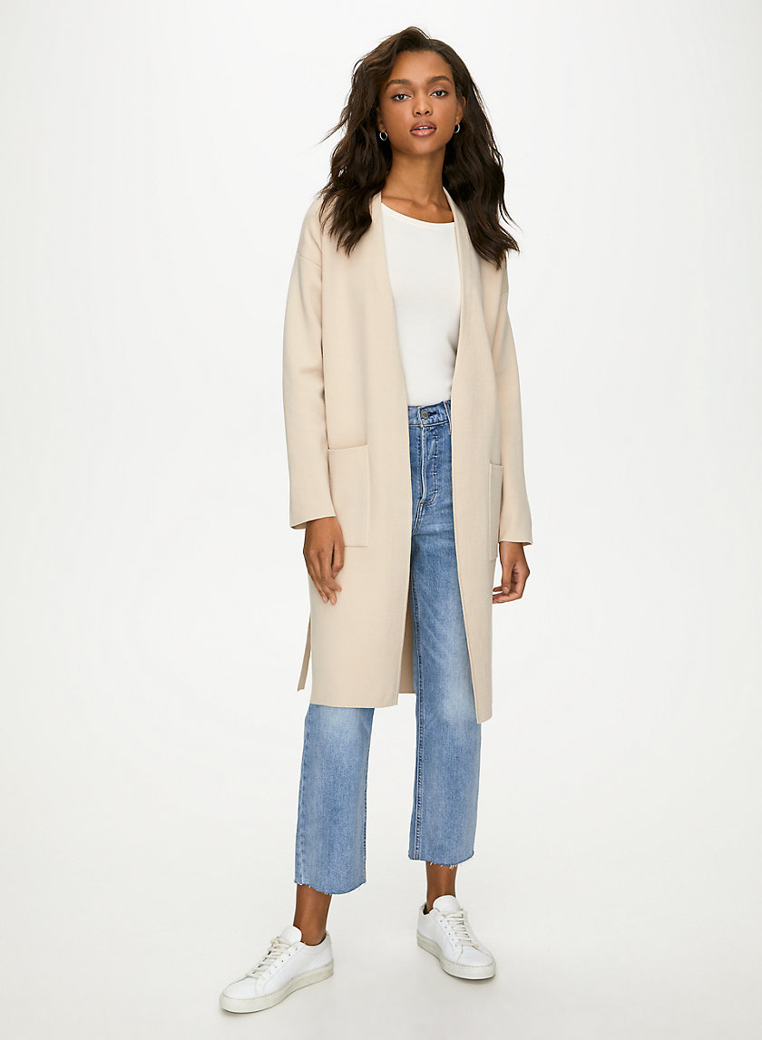 TY CARDIGAN - Belted robe cardigan