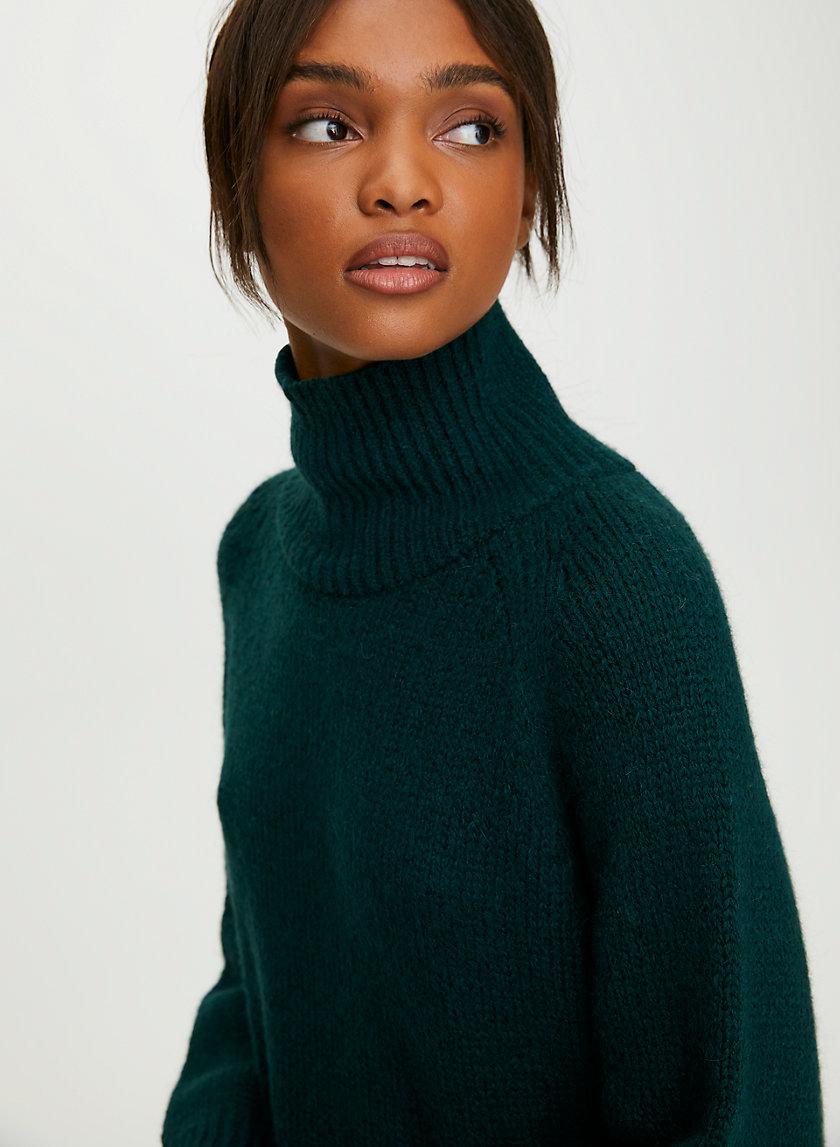 DAY OFF TURTLENECK SWEATER - Oversized turtleneck sweater