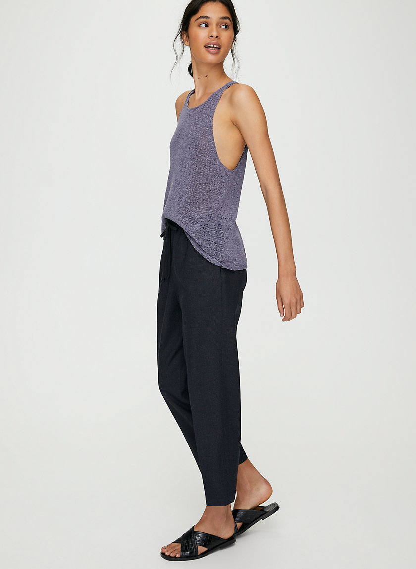 EUGENIE KNIT TOP - Knit tank top