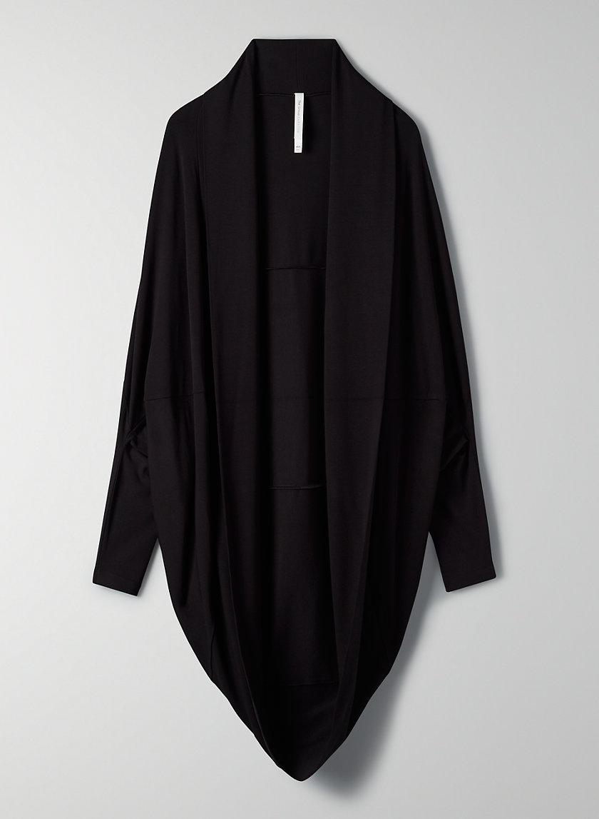 LEONORA SWEATER - Long cocoon cardigan