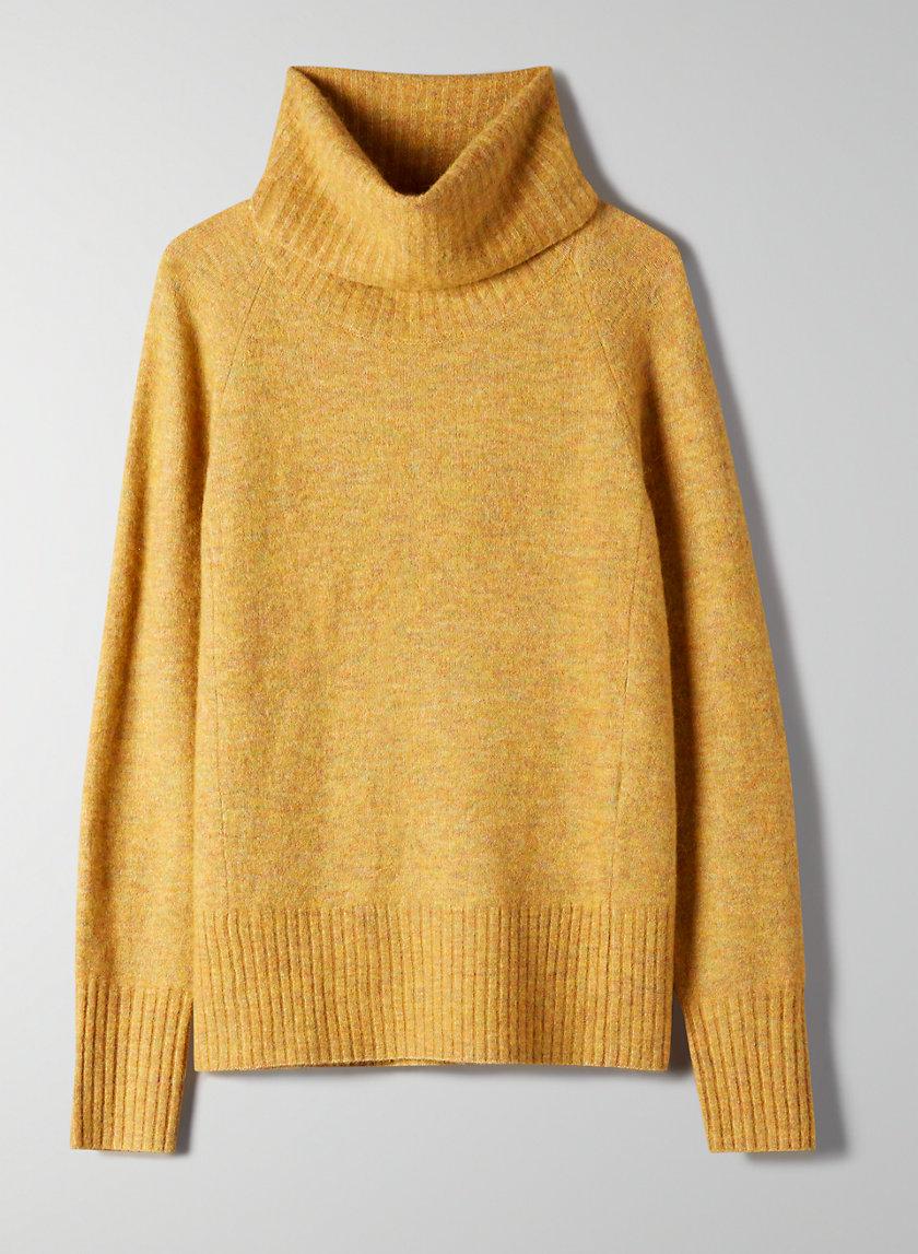 PLUTARCH SWEATER - Alpaca turtleneck sweater