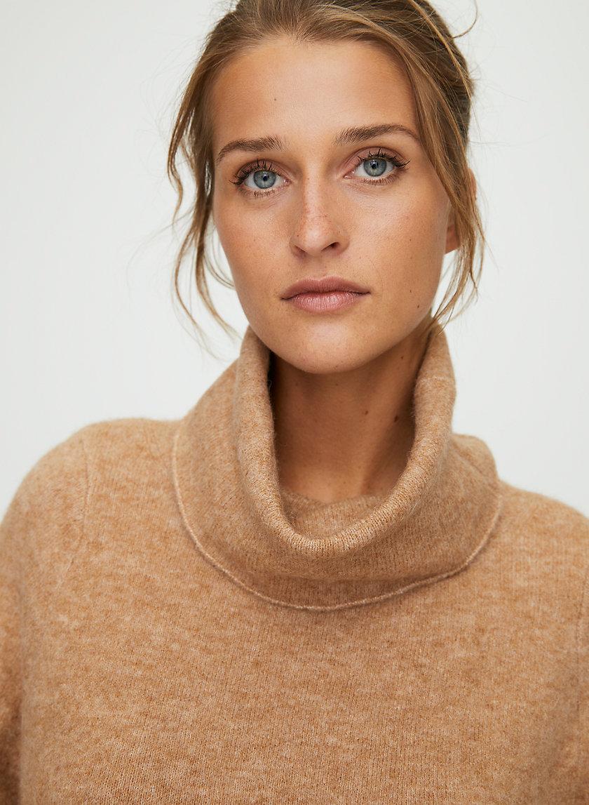 ADICHIE SWEATER - Wool turtleneck statement sweater