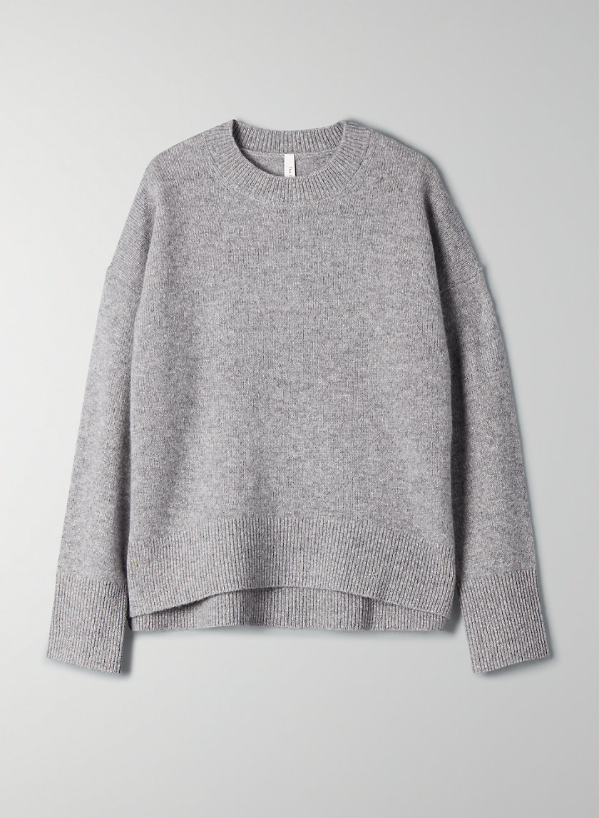 LUXE CASHMERE SWEATER - Cashmere crewneck sweater