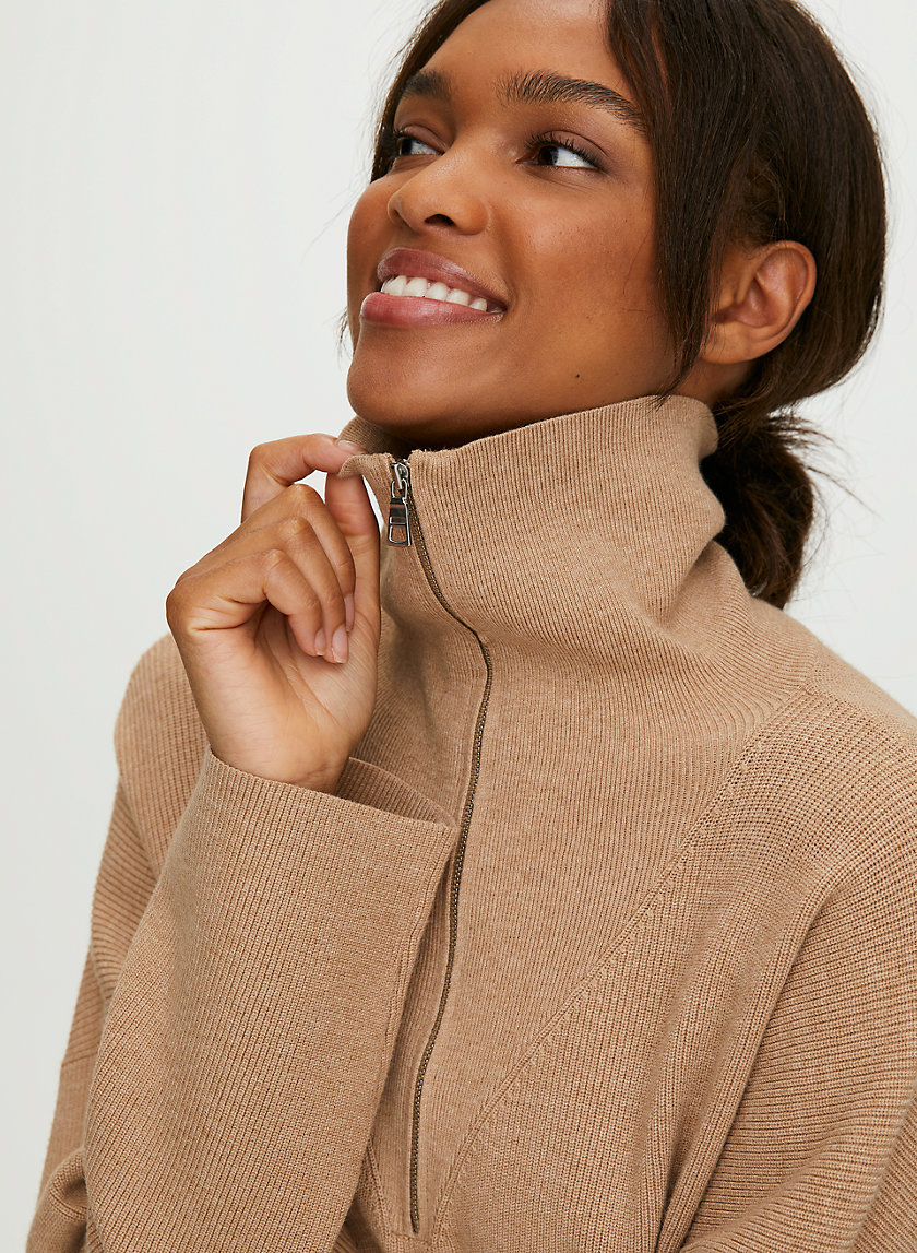 RODIN SWEATER - Mock neck sweater