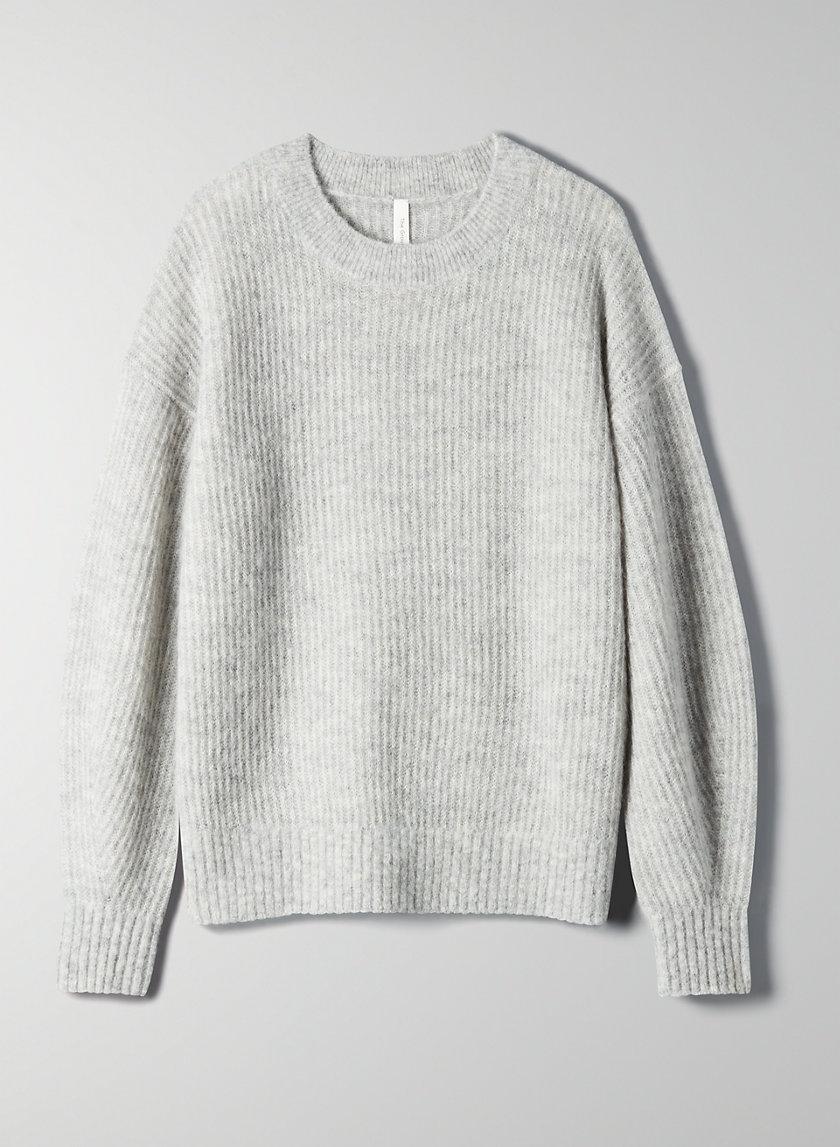 KLEIN CREWNECK - Alpaca crew-neck sweater