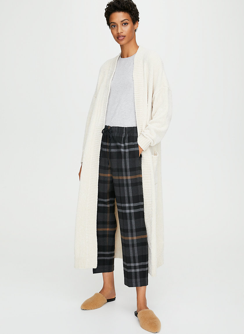 CALDER CARDIGAN - Long robe cardigan