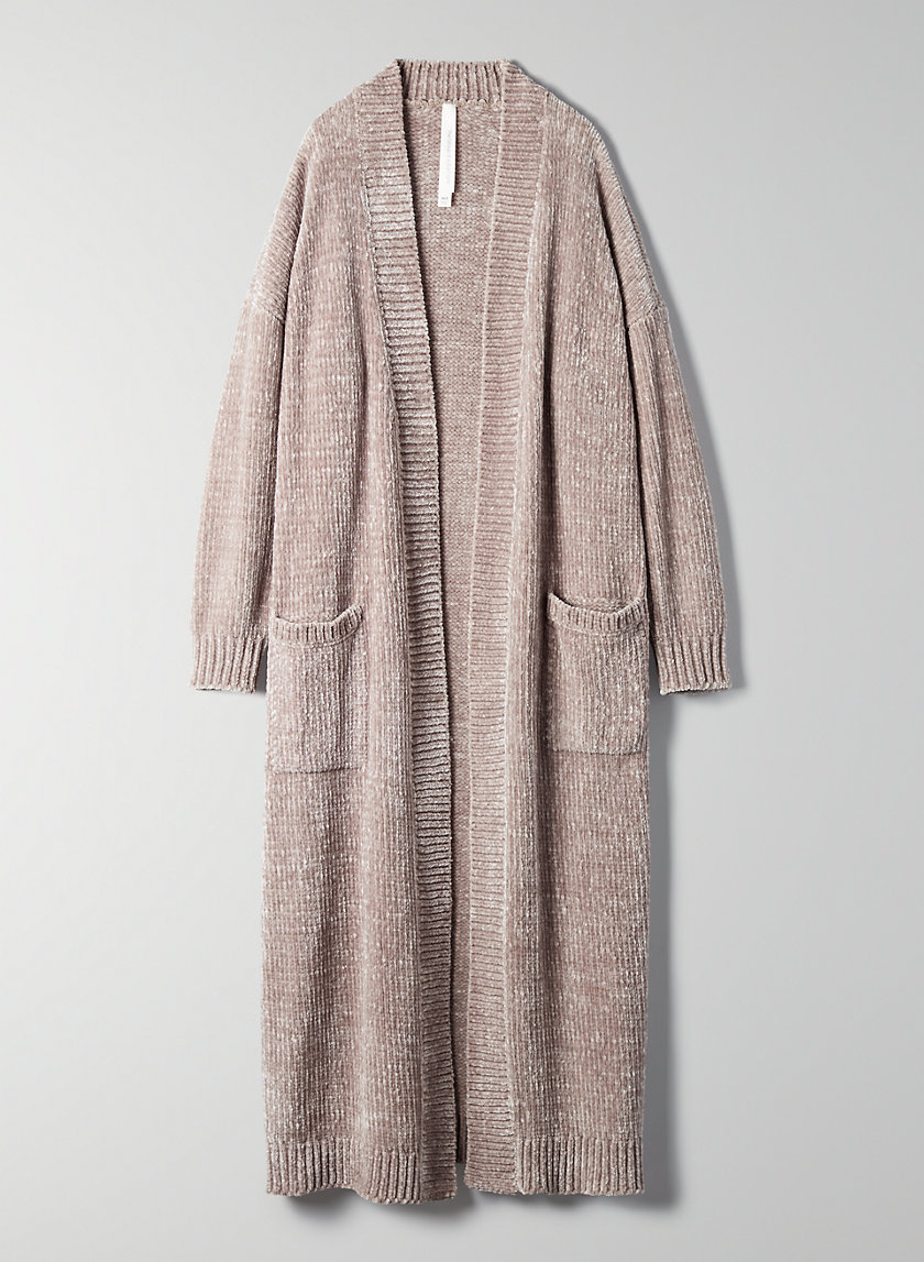 CALDER CARDIGAN - Long robe cardigan