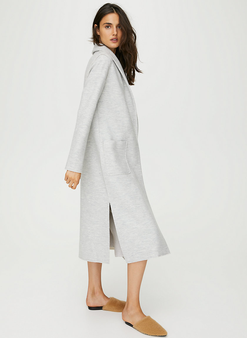 GORNICK JACKET - Long, wool-blend jacket