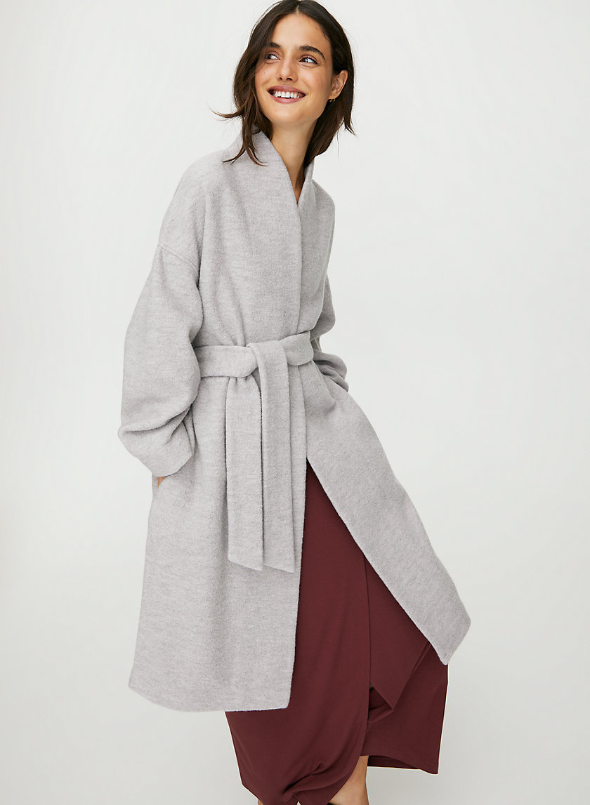 MAEL JACKET - Belted wool jacket