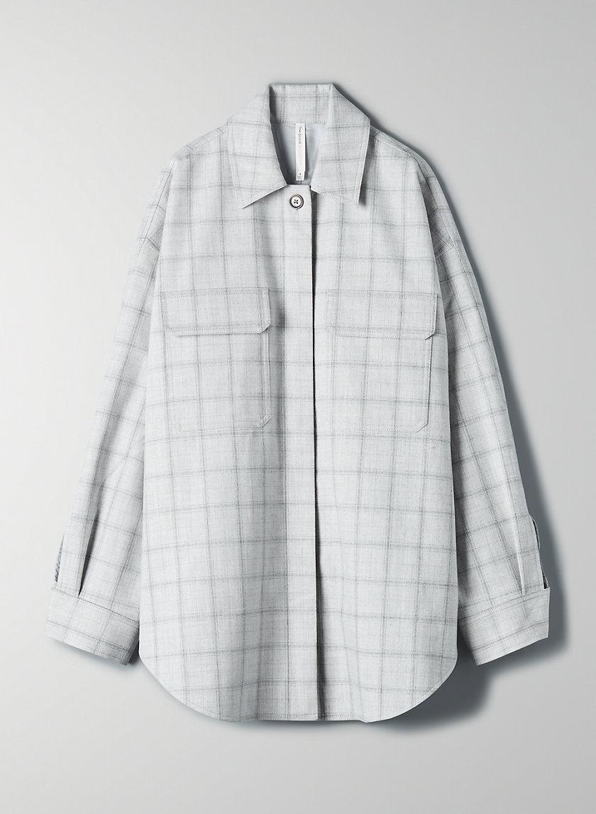 GRAYDON JACKET - Flannel shacket