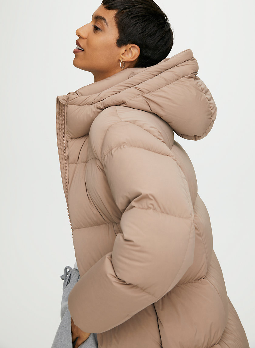 PARK CITY MID PUFFER - Mid-length, goose-down puffer jacket