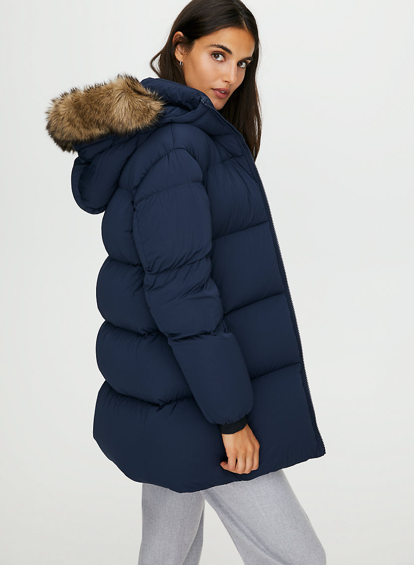 PARK CITY MID PUFFER - Mid-length goose-down puffer jacket