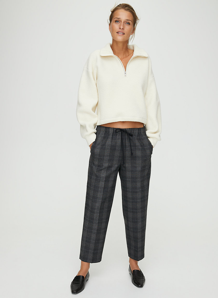 JIMMY PANT - Cropped, drawstring joggers