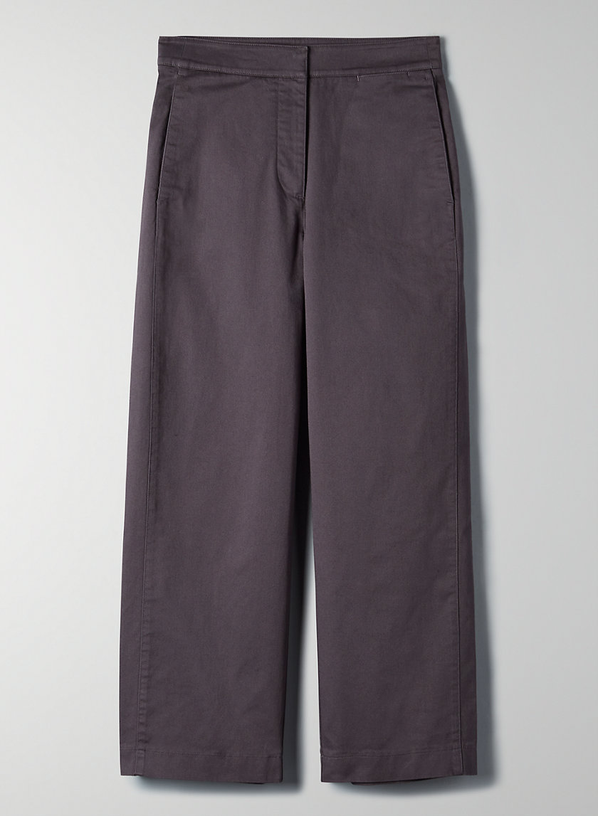 WALSH PANT - Cropped, wide-leg pant