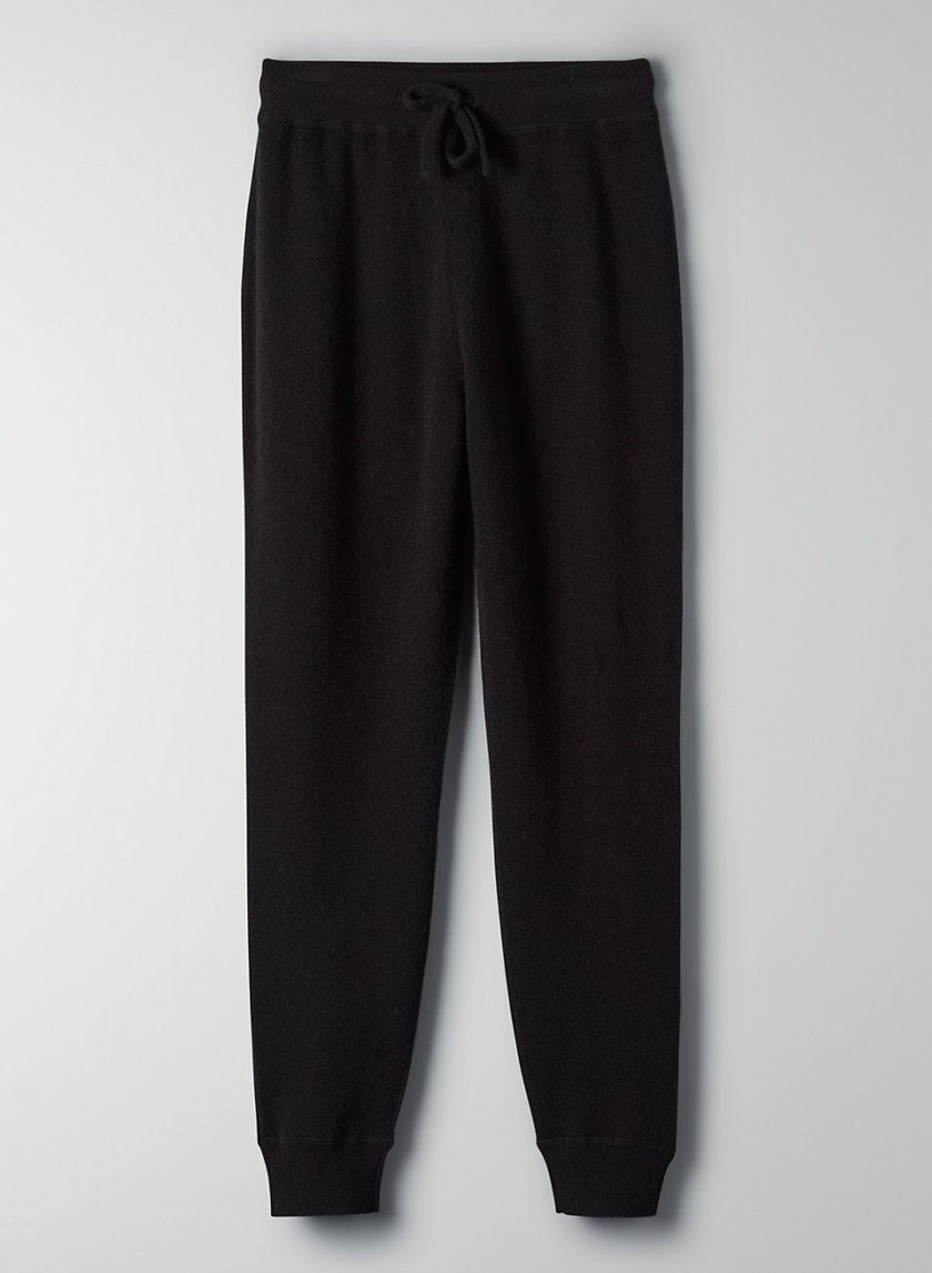 CAITLIN JOGGER - Easy-care cashmere pants