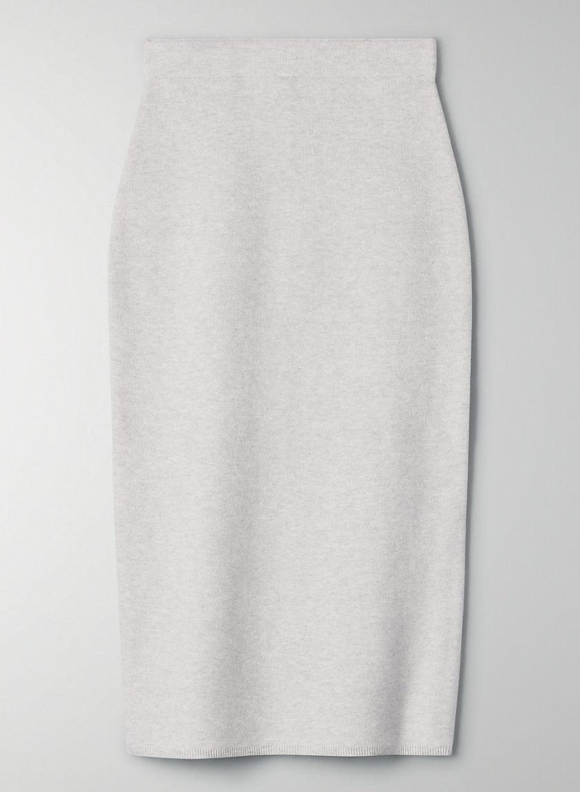 JOHAN SKIRT - Wool-blend pencil skirt