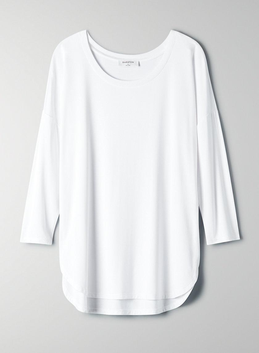NORRIS T-SHIRT - Long-sleeve, boxy t-shirt