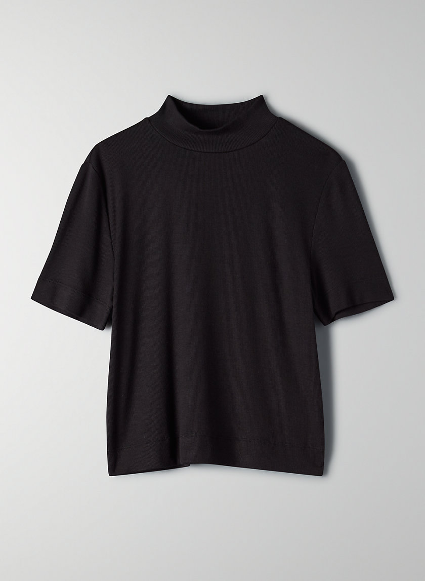 GONZALO T-SHIRT - Mock-neck t-shirt