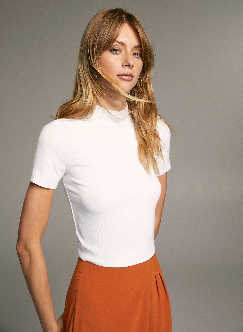GONZALO T-SHIRT - Mock-neck t-shirt