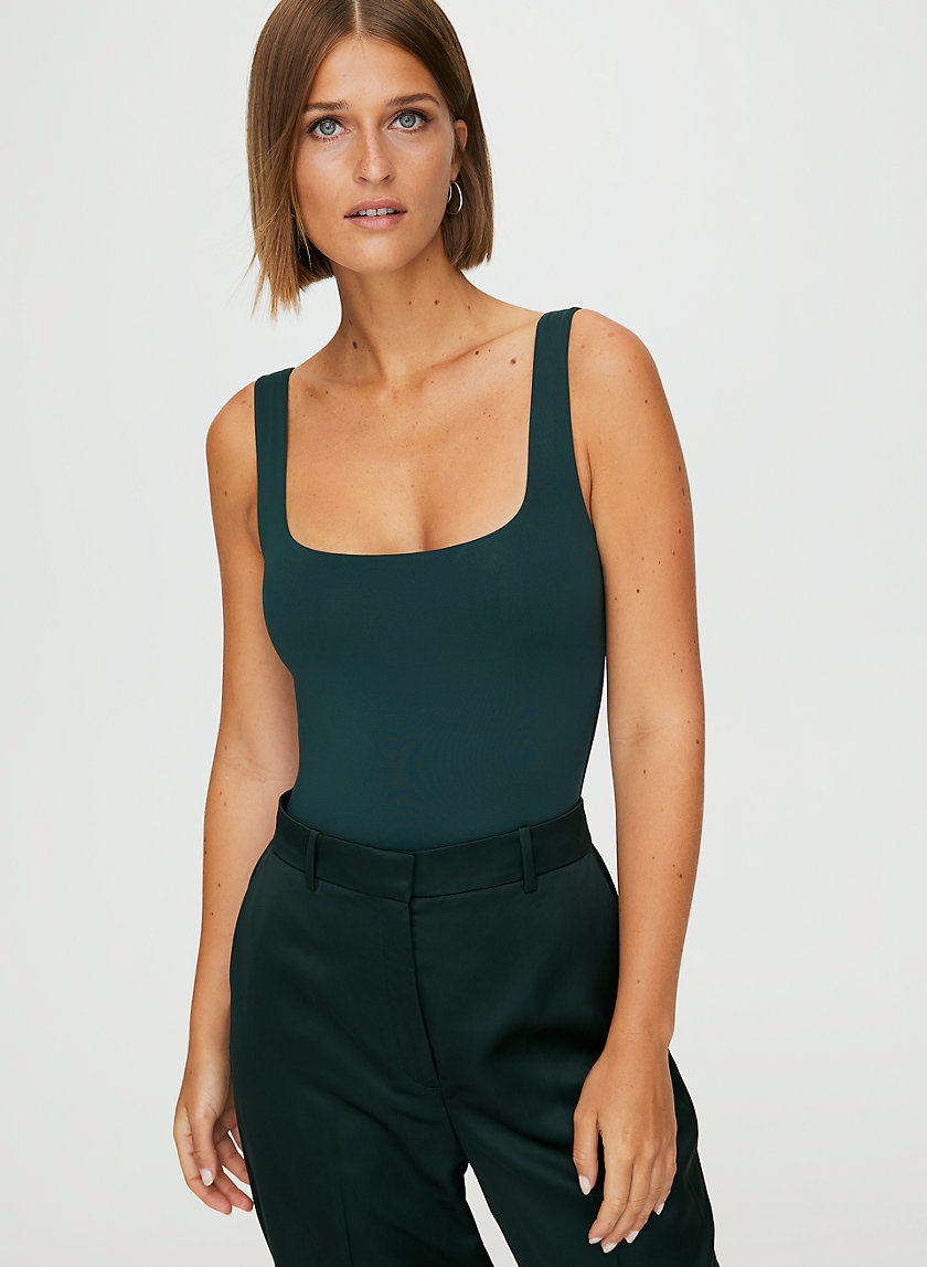 CONTOUR BODYSUIT - Square neck bodysuit