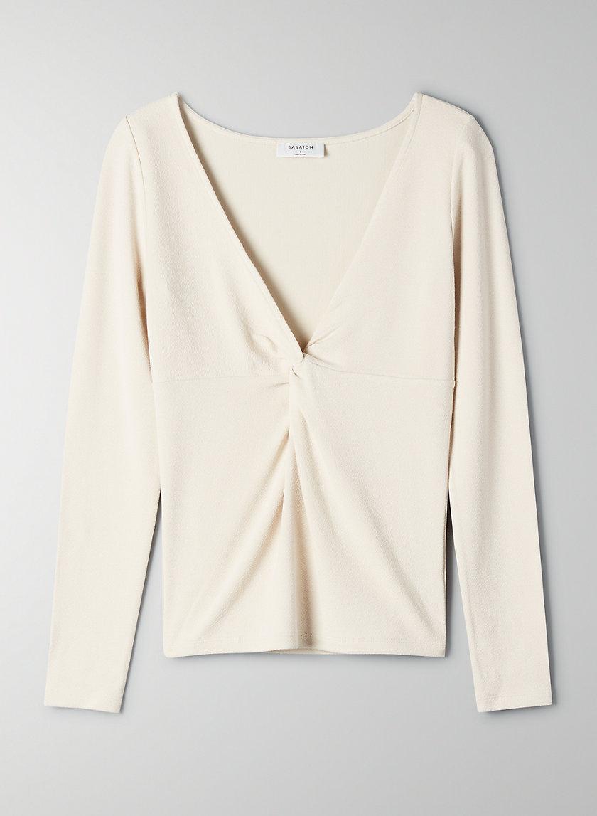 GAUDI LONGSLEEVE - V-neck, long-sleeve t-shirt