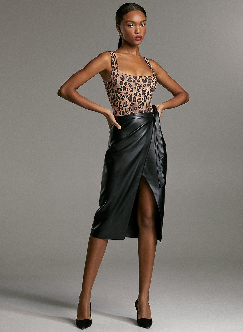 CONTOUR BODYSUIT - Animal print bodysuit