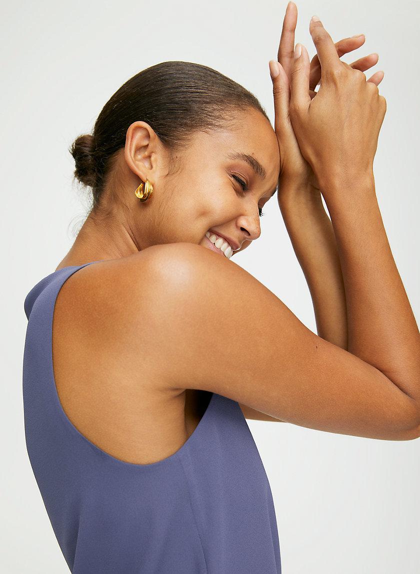 MURPHY BLOUSE - Cropped, sleeveless top