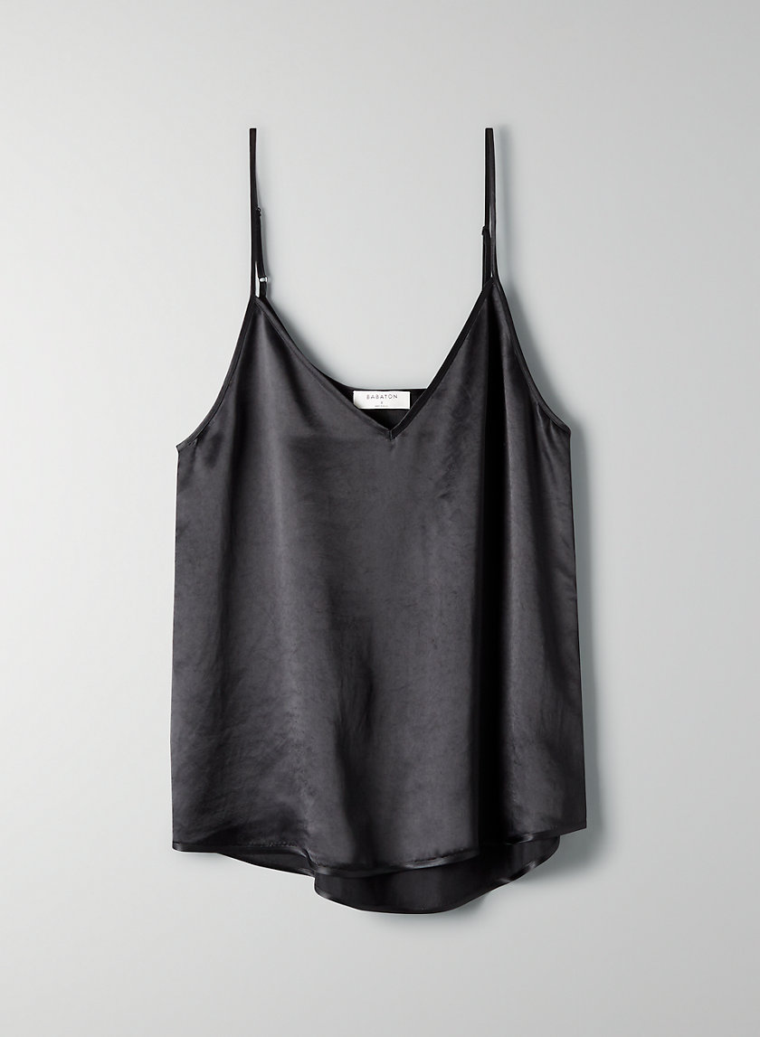 EVERLY CAMISOLE - Silky satin camisole