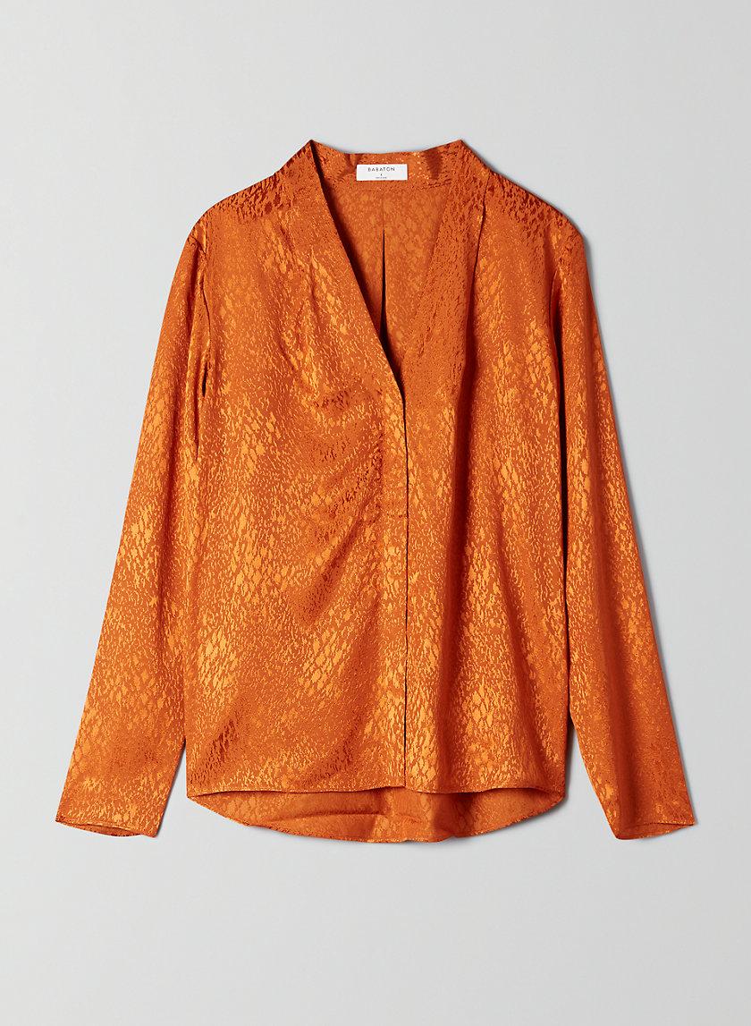 POWER BLOUSE - Animal print blouse
