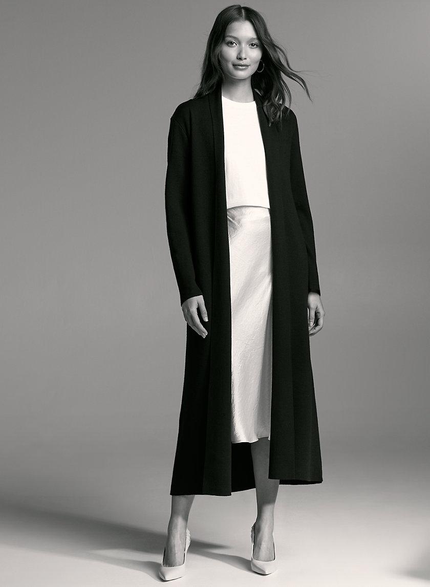 KIRBY SWEATER - Lightweight, belted cardigan