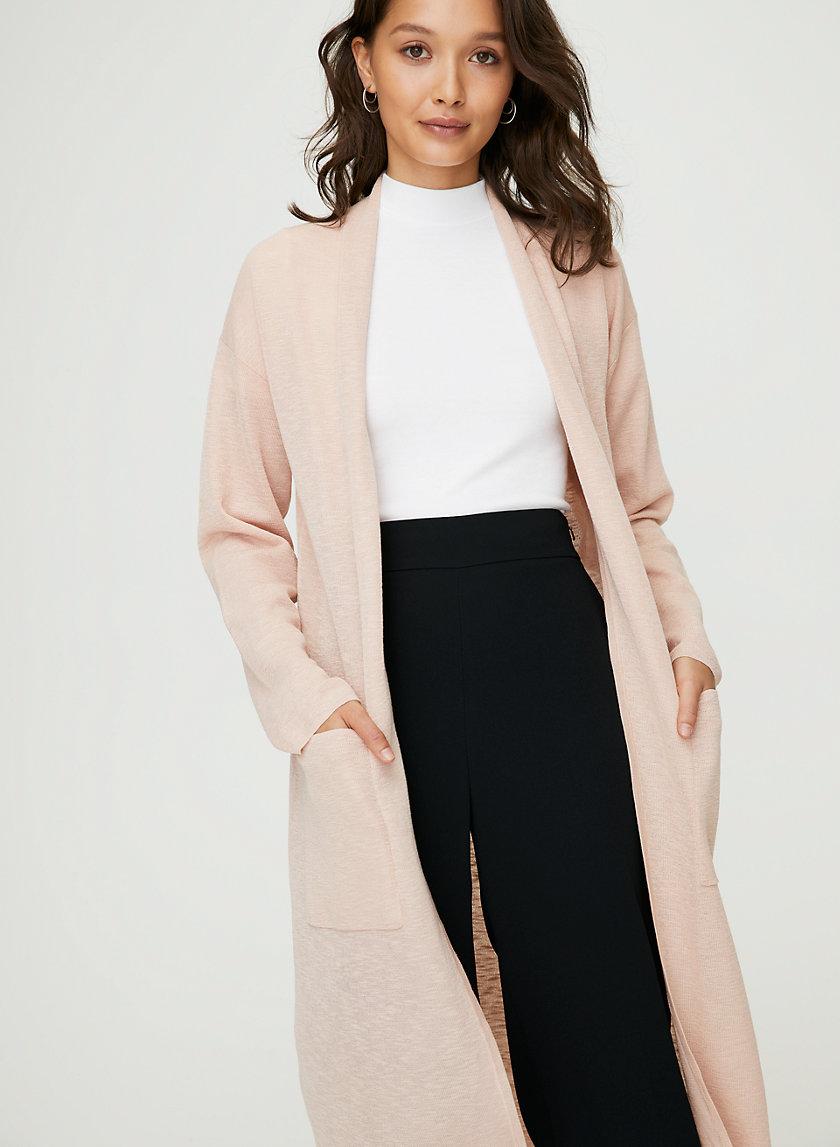 LANCE CARDIGAN - Lightweight long cardigan