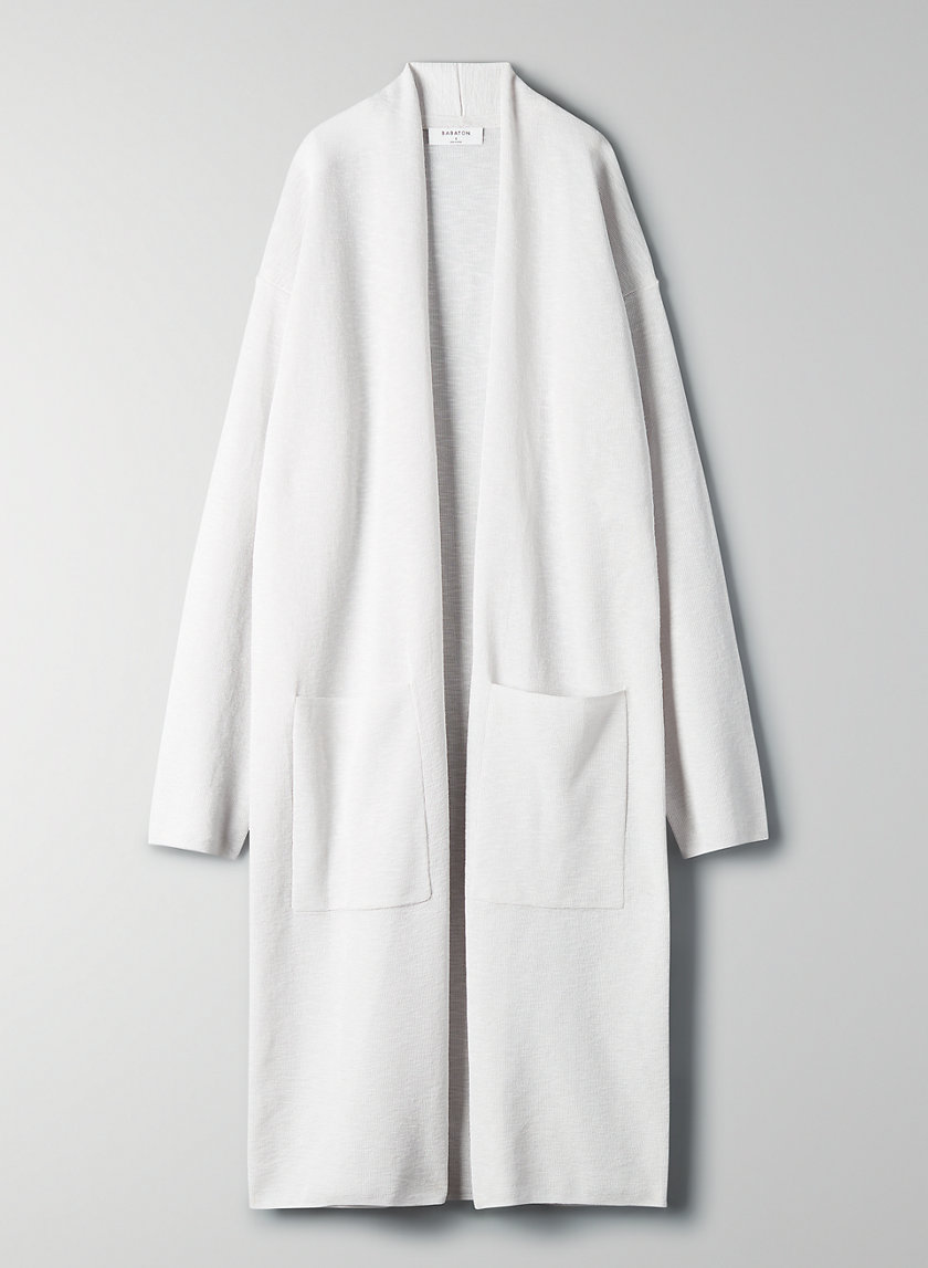 LANCE CARDIGAN - Lightweight long cardigan