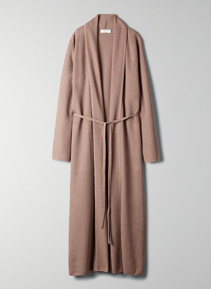 KIRBY CARDIGAN - Belted robe cardigan