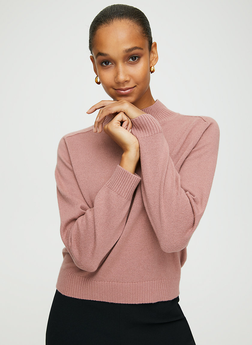 PERRY TURTLENECK - Wool-cashmere turtleneck sweater