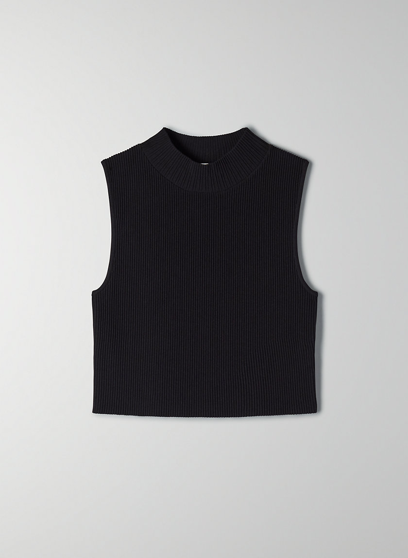 ANDERS SCULPT KNIT TOP - Sleeveless sweater