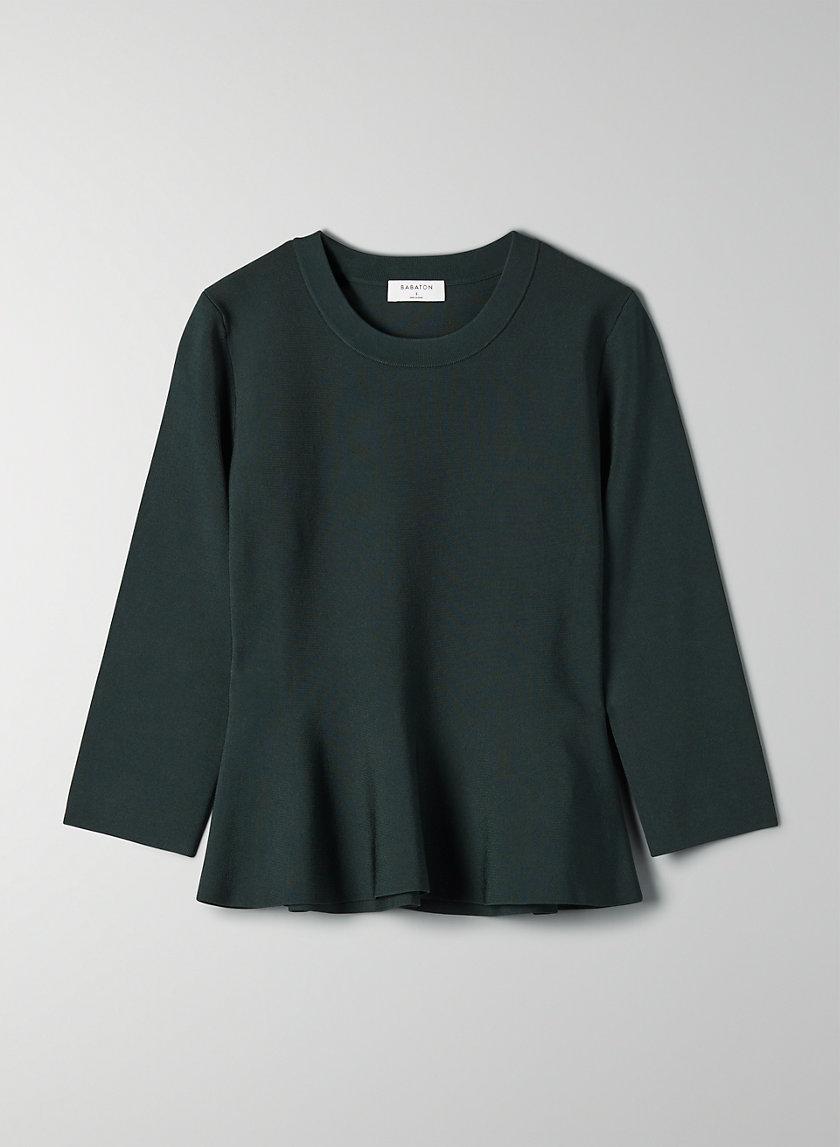 PIERS LONGSLEEVE - Peplum sweater