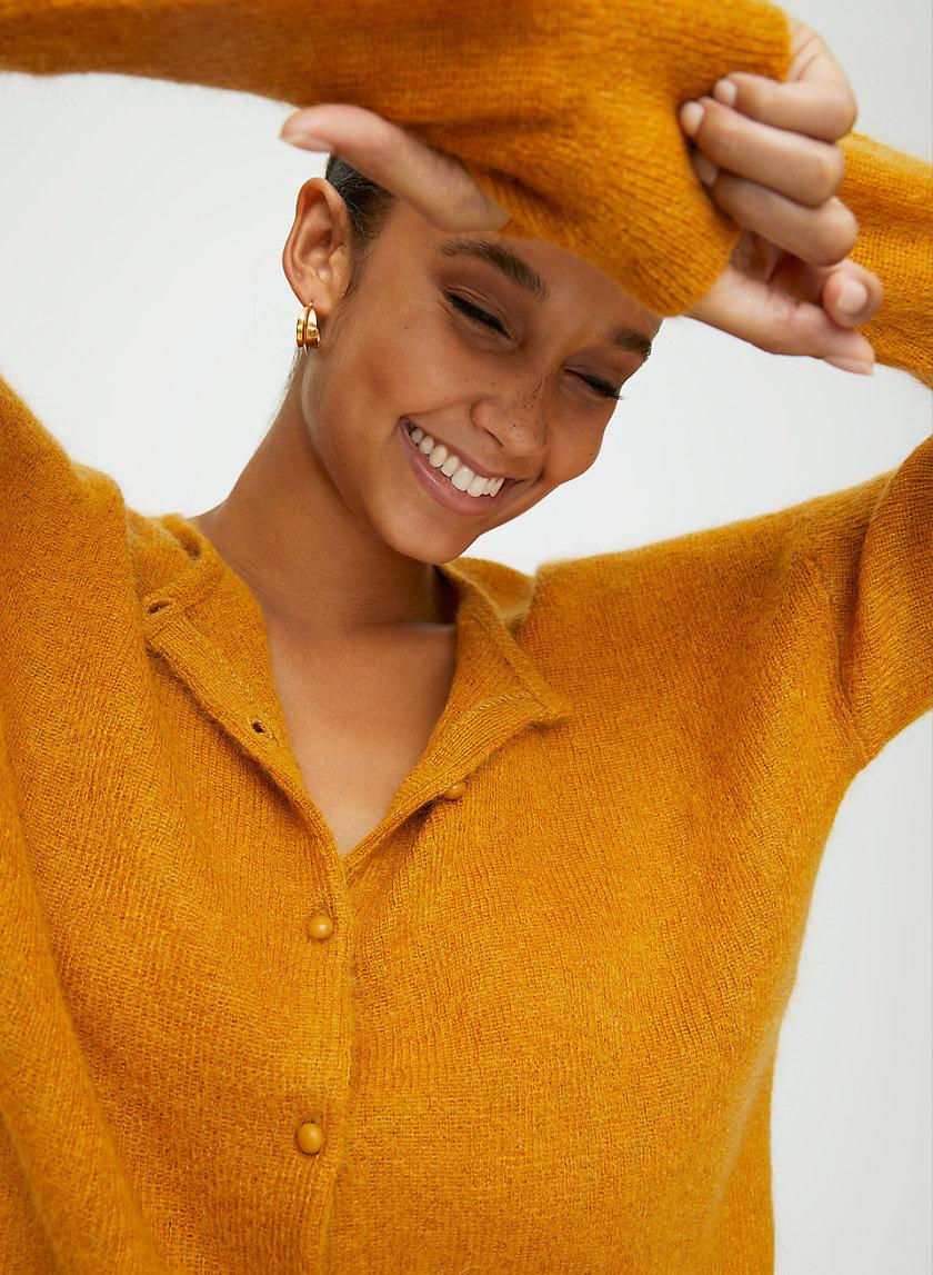 HARLAN SWEATER - Button-up cardigan sweater