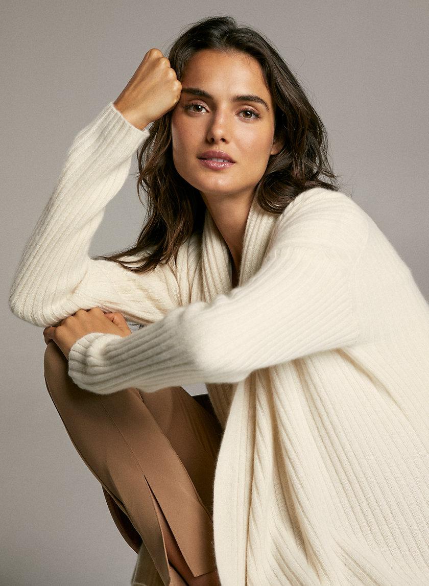 KAHN CASHMERE CARDIGAN - Cashmere cardigan sweater