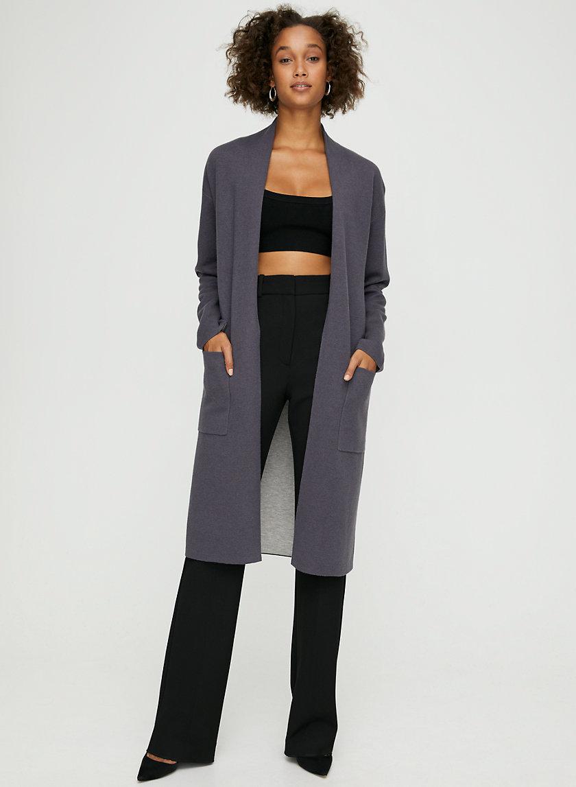 LANCE CARDIGAN - Wool-blend cardigan with pockets