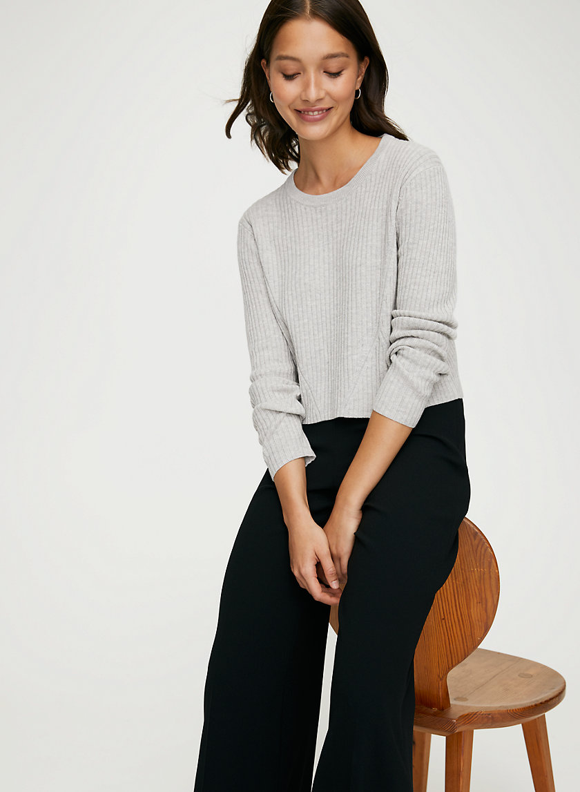 NEW NATHANIEL SWEATER - Cropped fitted sweater