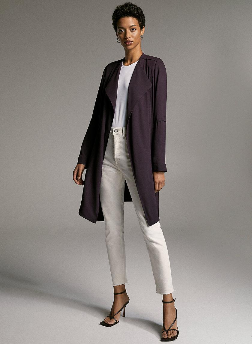 FLOWY TRENCH COAT - Flowy modern trench coat