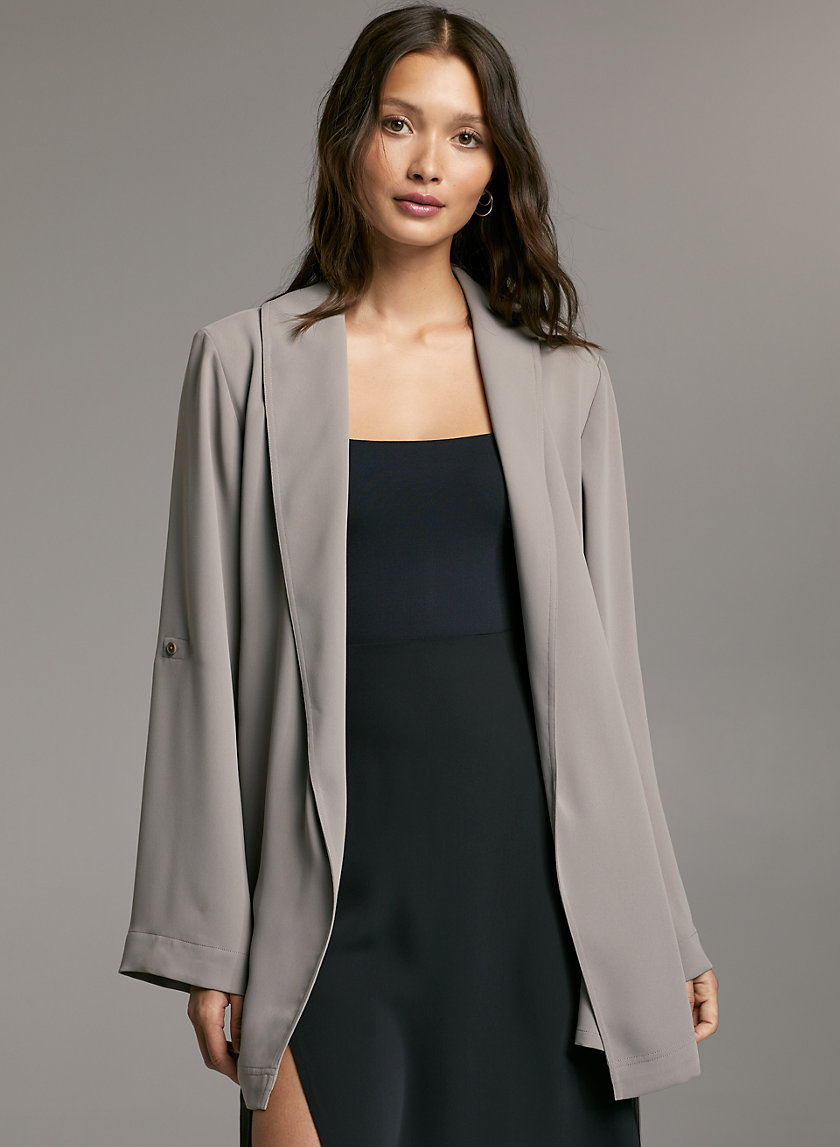KAHLO ROBE MID - Mid-length, robe jacket