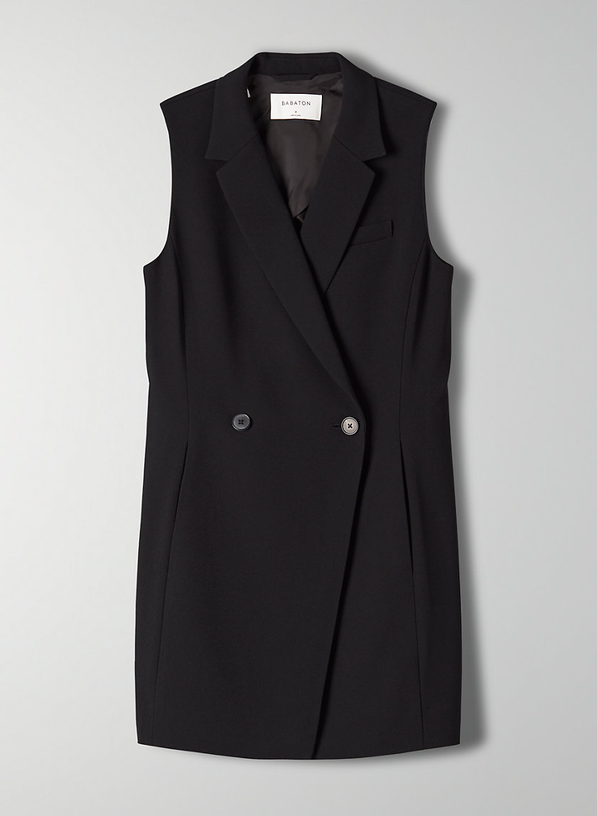 BLAZER VEST - Long double-breasted vest