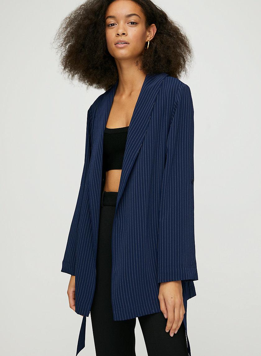 KAHLO ROBE MID - Belted robe jacket
