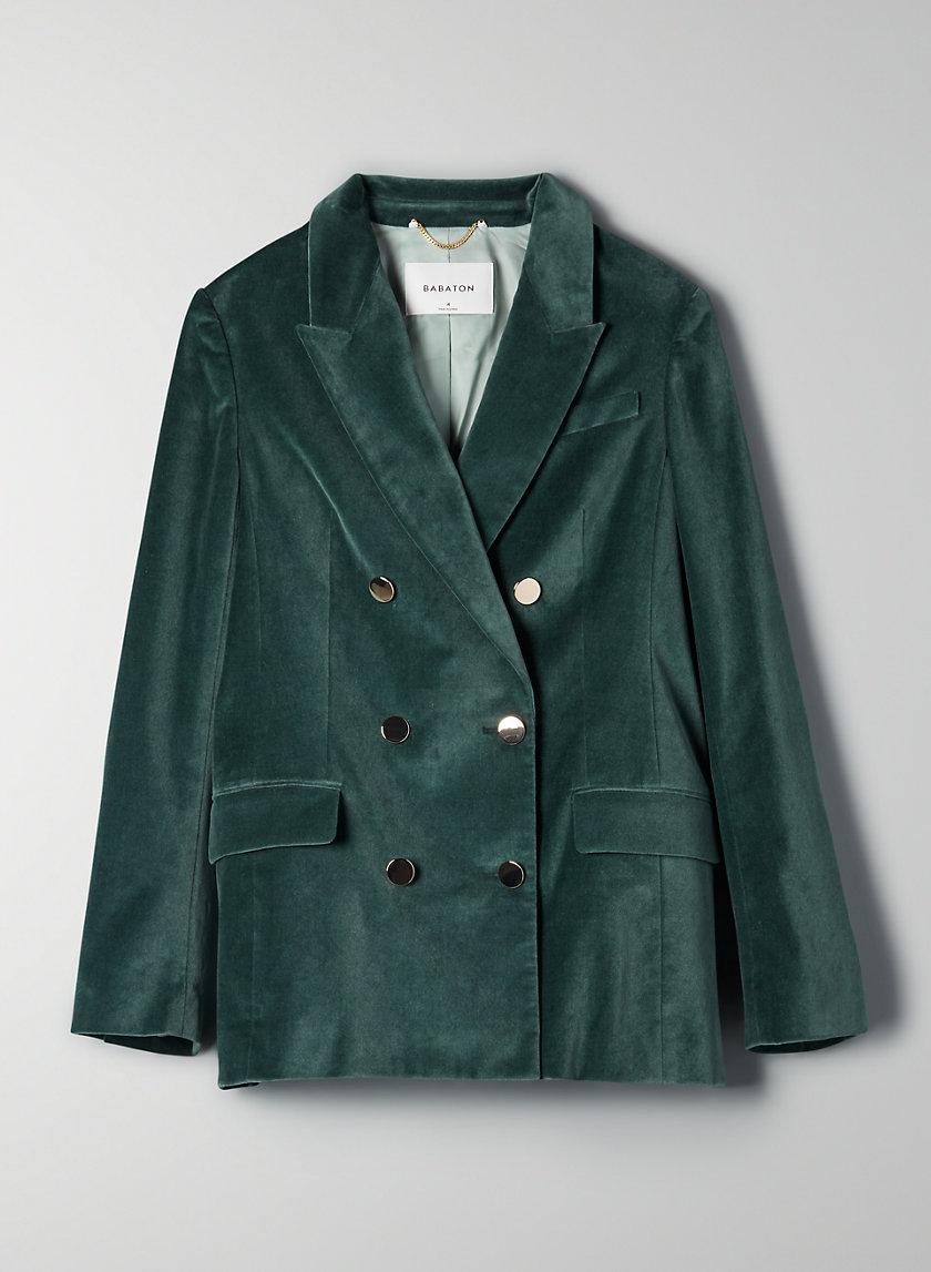 SAMUEL VELVET BLAZER - Velvet blazer